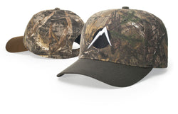 Richardson Outdoor Duck Cloth Visor & Button Camo 846