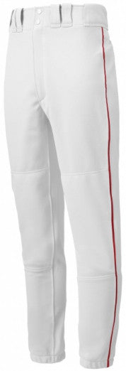 Baseball Pants Mizuno Select Piped Adt/Yth 350148/350149