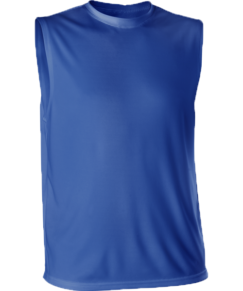 Alleson Tech Tee Microfiber Sleeveless Adult 506XS