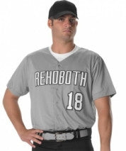 Alleson Baseball Jersey Adult Dura-Light Mesh 52MBFJ