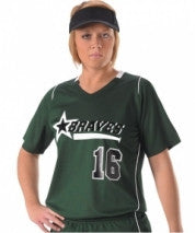 Alleson Softball Jersey Girl's 557JWY