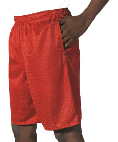 Alleson Tech Short Extreme Mesh with Pockets Adult 569PKT