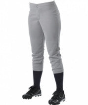 Alleson Softball Pant Girl's Low Rise 605PLWY