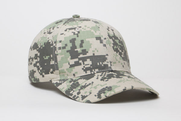 Pacific Headwear Camouflage Digital Camo 695C