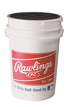 Rawlings Bucket with 3 dozen Balls ROLB1XBUCK36