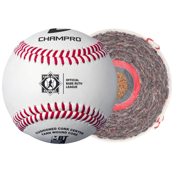 Champro Baseball Babe Ruth Game Ball CBB-300BR