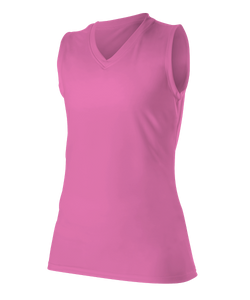 Alleson Tech Tee Microfiber Sleeveless Women's 506XSW