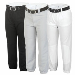 Baseball Pant Youth Double Knit Pull-on