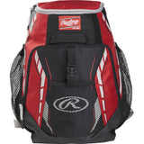 Rawlings Baseball Bags Youth Player's Team Backpack R400