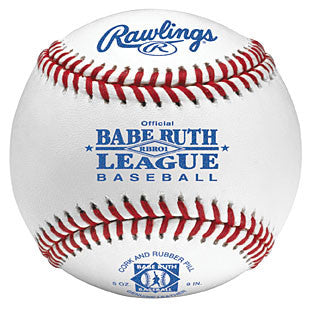 Rawlings Baseballs Babe Ruth Season Play RBRO1