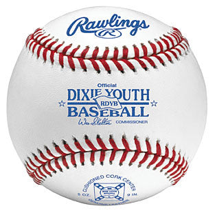 Rawlings Baseballs Dixie Youth League Tourney Ball RDYB
