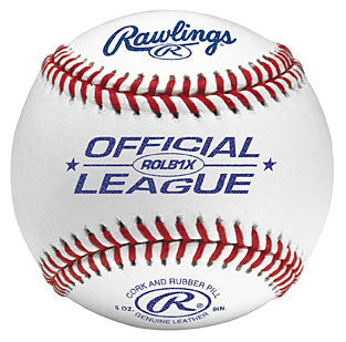 Rawlings Baseballs Leather Practice Balls ROLB1X