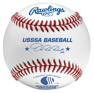 Rawlings Baseballs USSSA Tournament Ball ROLBUSSSA