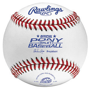 Rawlings Baseballs Pony League Season Play Ball RPLB1