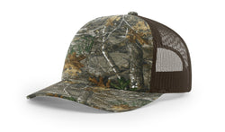 Richardson Trucker Mesh Printed 112P RealTree & Mossy Oak Camo