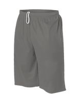 Alleson Tech Short Extreme Mesh with Liner Adult 569PL