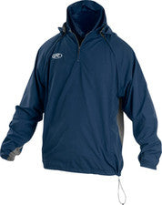 Rawlings Baseball Jacket Quarter Zip Adult TRITHR