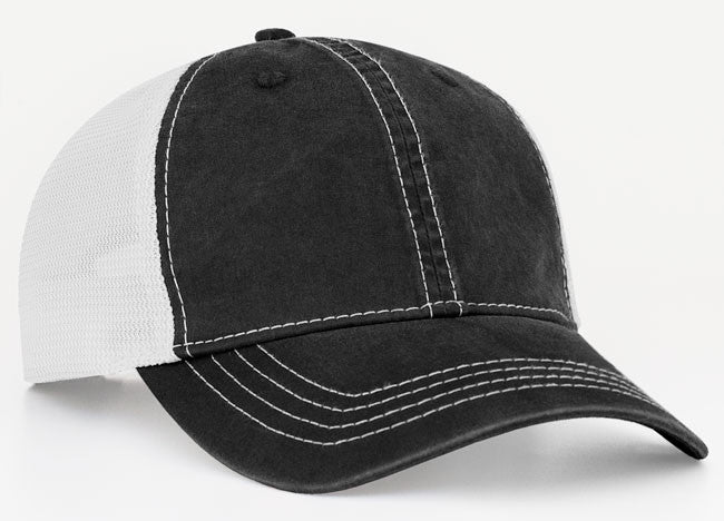 Pacific Headwear Vintage Trucker Mesh Hat V67