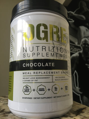 OGRE Nutrition Meal Replacement CHOCOLATE