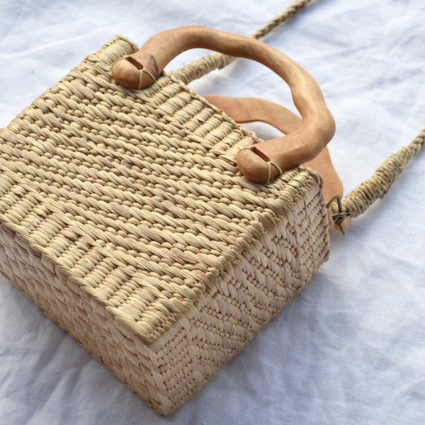 Box Straw Bag