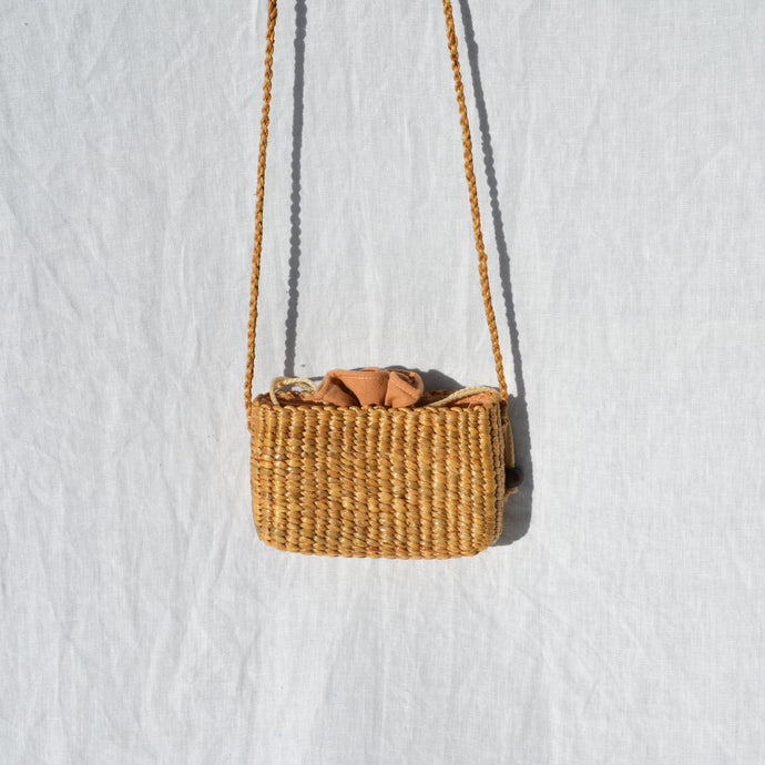 Small Straw Crossbody