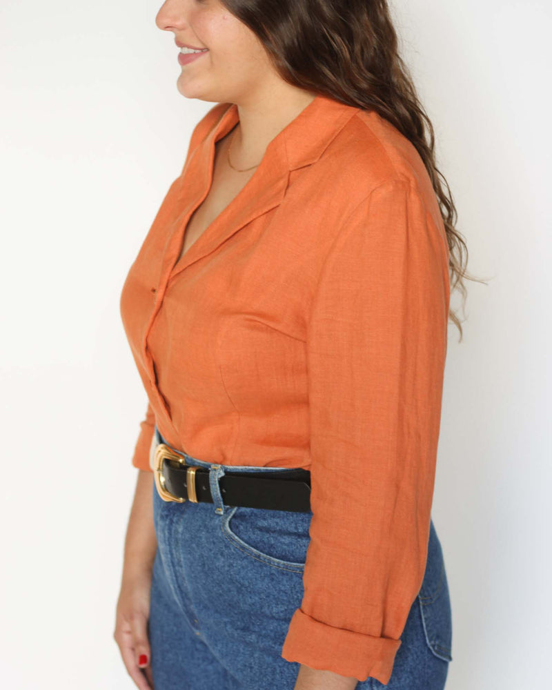 Terracota Blazer/Blouse