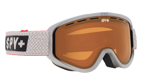 SPY WOOT MATTE WHITE PERSIMMON SNOW GOGGLE