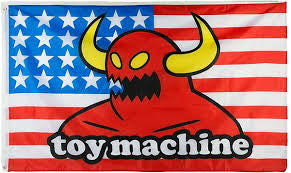 TOY MACHINE MONSTER FLAG