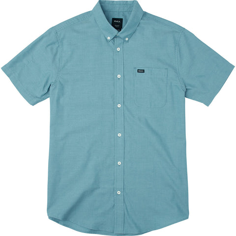 RVCA THAT'LL DO OXFORD SHORT SLEEVE