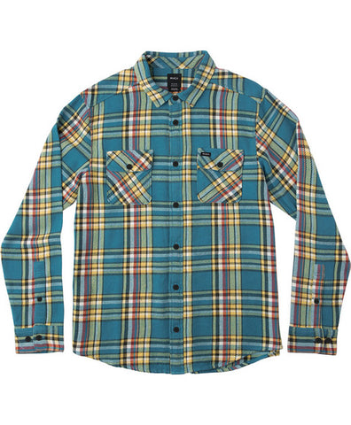 RVCA CAMINO FLANNEL LONG SLEEVE FLANNEL