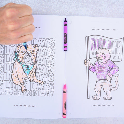 Glory Days Apparel Coloring Book