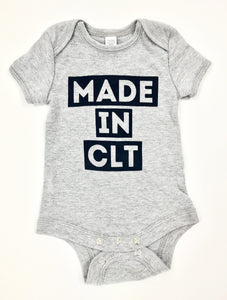 Made In CLT Onesie