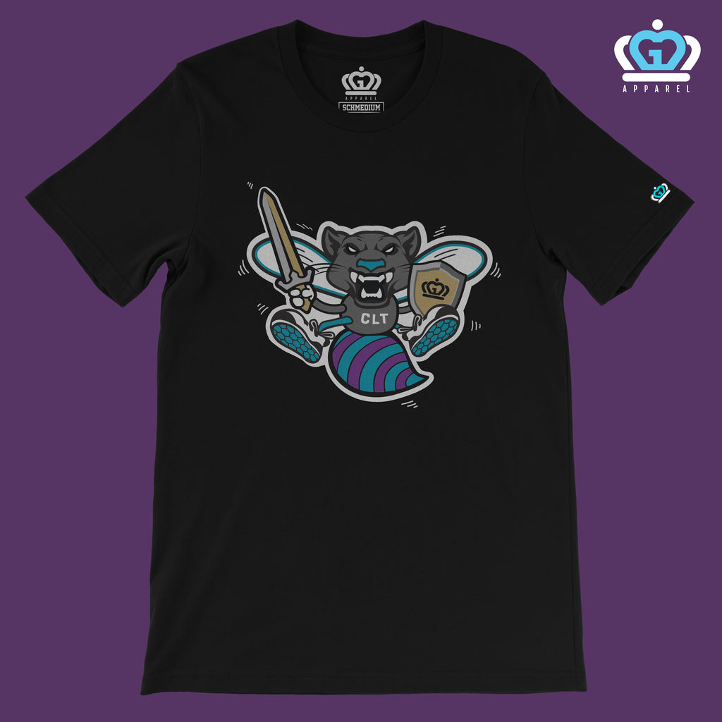 Glory Days Apparel - Ultimate CLT Mascot t-shirt