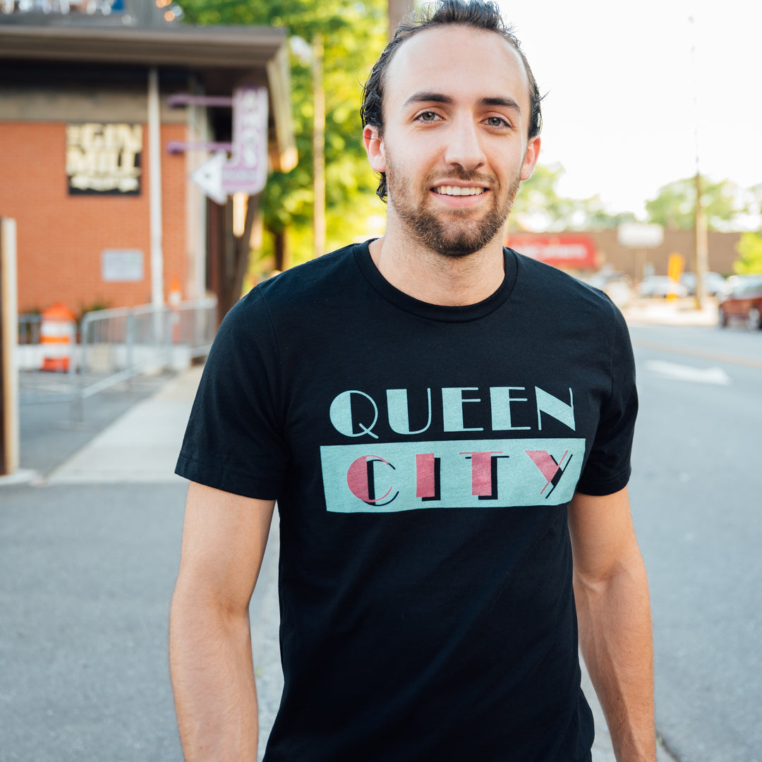 Glory Days Apparel - Queen City Vice black t-shirt
