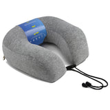 Neck Pillow with Premium Luxury Memory Foam Travel Orthopedic