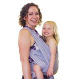 Baby Wrap Safely Carries Babies from Birth to 35 Pounds