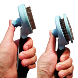 Self Cleaning Pet Brush for Dogs, Cats, and Small Animals 90% Deshedding