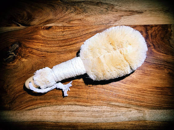 Body Brush, Japanese palm plant fiber