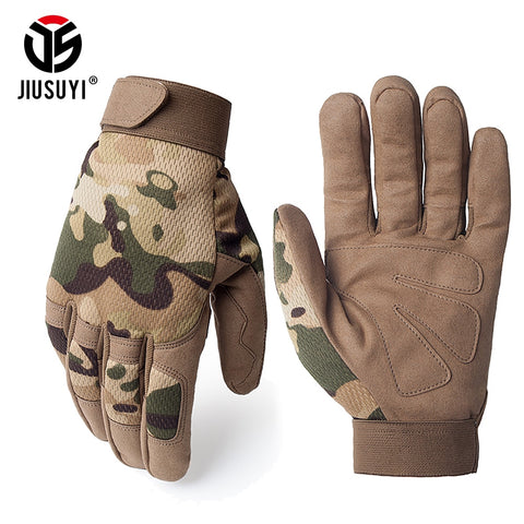 Multicam Tactical Gloves Antiskid Army Military Bicycle Airsoft Motocycel Shoot Paintball Work Gear Camo Full Finger Gloves Men - Buy The Park | Beautiful Luxury Apparel & Accessories