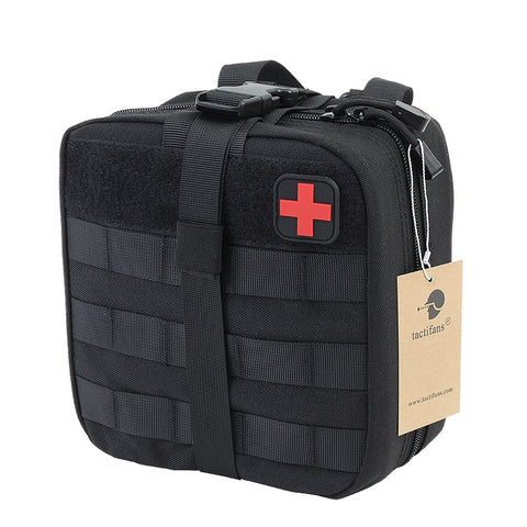 TACTIFANS First Aid Pouch Patch Bag Molle Hook and Loop Amphibious Tactical Medical kit EMT Emergency EDC Rip-Away Survival IFAK - Buy The Park | Beautiful Luxury Apparel & Accessories