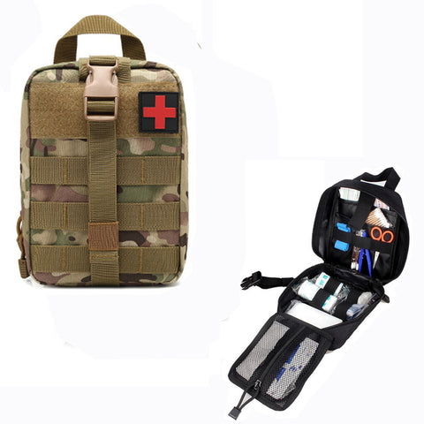 Hiking EDC Molle Tactical Pouch Bag Emergency First Aid Bag survive Kit Package Travel Outdoor Camping Climbing Medical Kits Bag - Buy The Park | Beautiful Luxury Apparel & Accessories