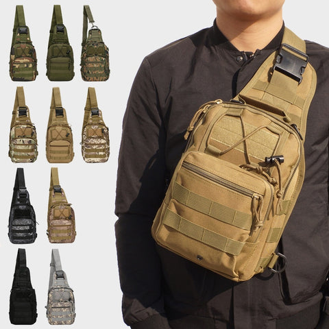 Hiking Trekking Backpack Sports Climbing Shoulder Bags Tactical Camping Hunting Daypack Fishing Outdoor Military Shoulder Bag - Buy The Park | Beautiful Luxury Apparel & Accessories