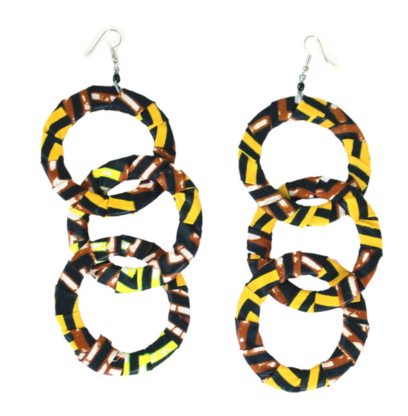 Oya Kitenge Earrings