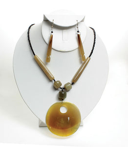 Areta Necklace and Earring Set