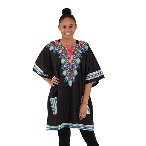 Ladies Floral Dashiki