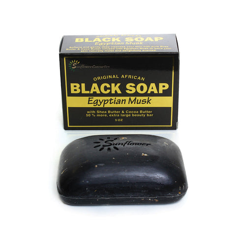 Egyptian Musk Black Soap