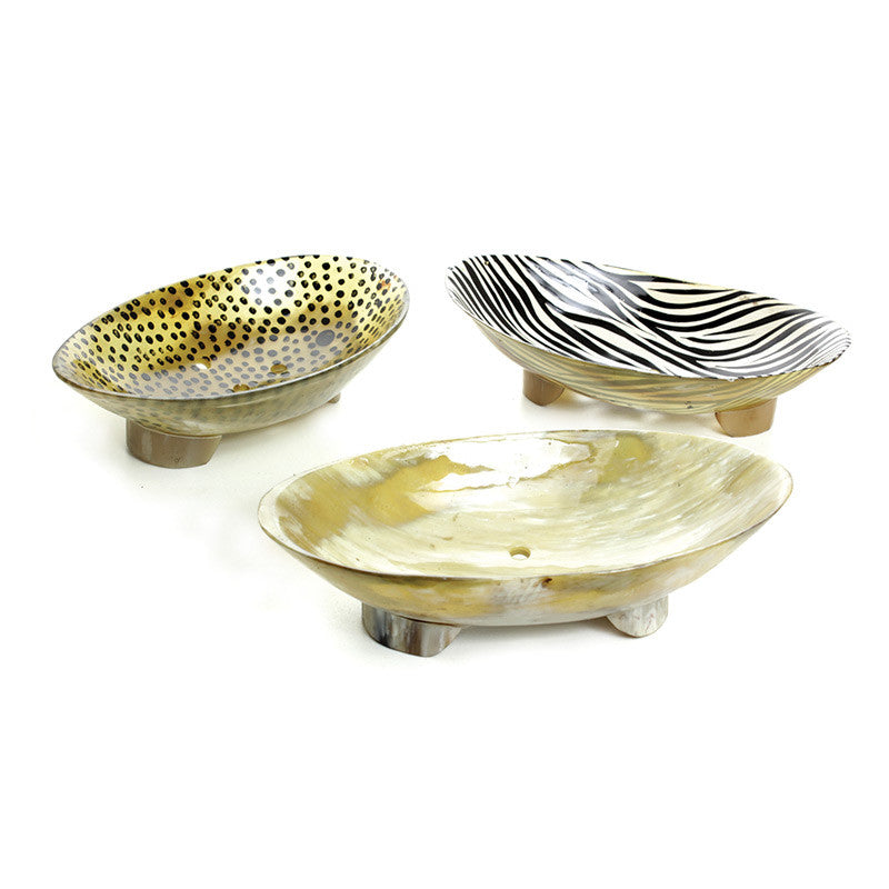 Assorted African Bone Soap Tray