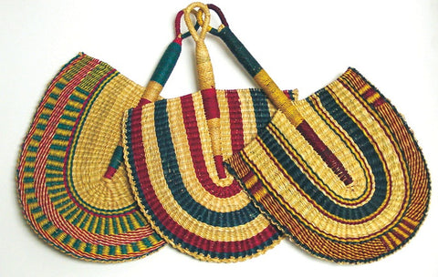 Handwoven African Fan