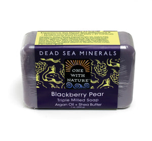 Blackberry Pear Shea Butter Argan Soap