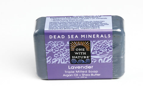 Lavender Shea Butter Argan Soap